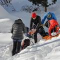 01.19 Cascades de glace d'Arolla : Cascade de l'Usine Electrique