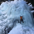 Cascade de glace: Brunet - Barmasse