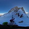202001180340a Col des Ecandies, Val d'Arpette, Gl du Trient, Tristan, Yvan, Rita, Caroline, Laurent, Alain, Christine